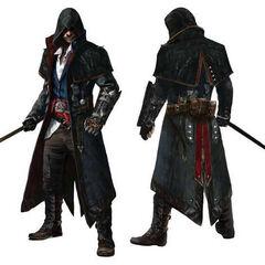 雅各布的刺客大师服装