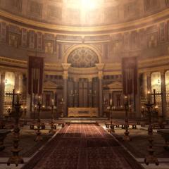 万神殿内部