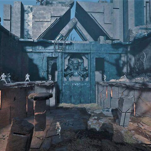 神殿主大厅,扭曲邪灵盘踞的地方