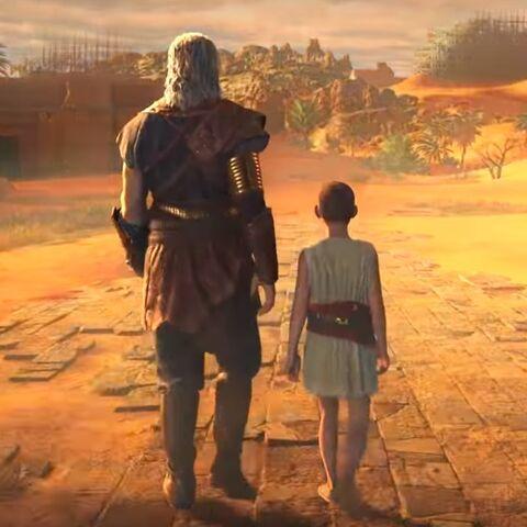 大流士和艾匹底欧斯在埃及