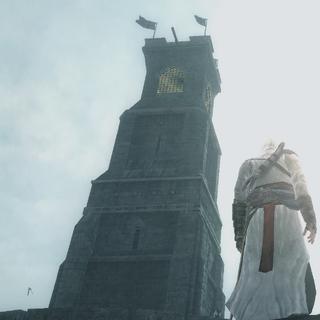 东部灯塔,亦即港口主塔