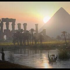Pyramiden am Nil
