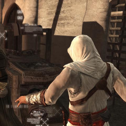 Altaïr steelt de brief.