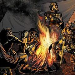 <b>Accipiter</b> en compagnie de ses guerriers