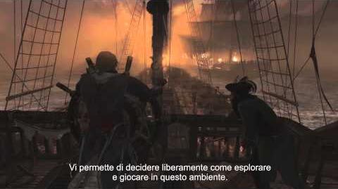 Demo ufficiale di Gameplay commentata - E3 2013 Assassin's Creed 4 Black Flag IT