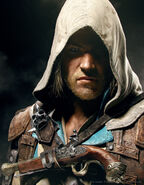 ACIV Edward Kenway Portrait Wallpaper