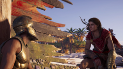 ACOD Quarry Quandary - Kassandra Finding Soldier