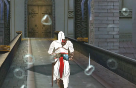 Altair charging to the tower - ACAC
