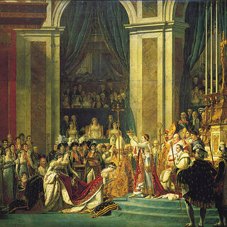 Napoleons Krönung zum Kaiser.