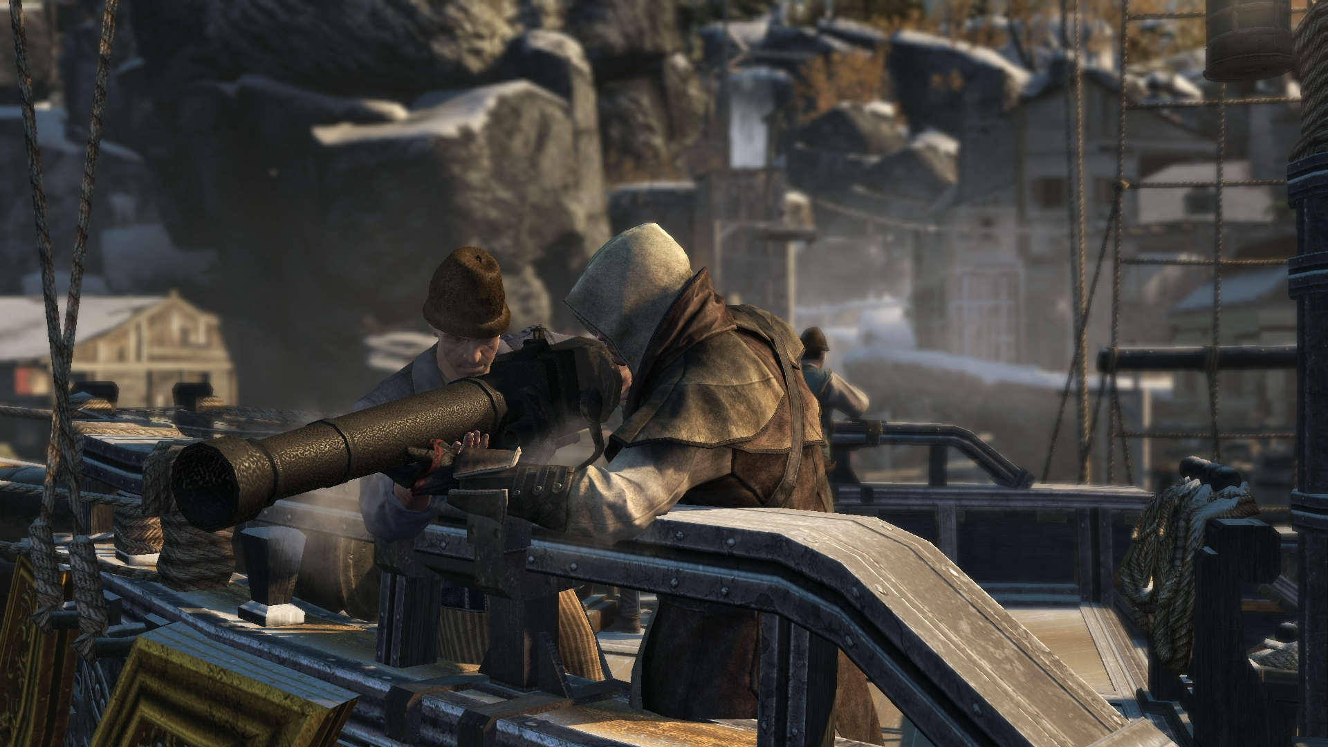 Mortars On Ships : Puckle gun assassin s creed wiki fandom powered by wikia