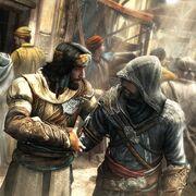 Yusuf und Ezio Markt