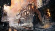 ACUnity duello invernale concept art