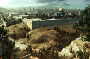 Jerusalem conceptart