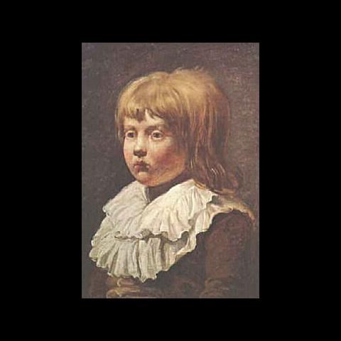 路易-夏尔幼年
