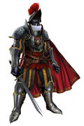 Papal Guard by Volta
