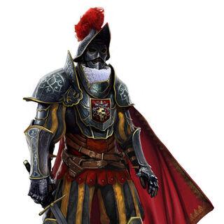 教皇卫兵的早期概念图