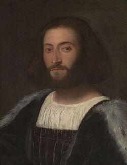 Tiziano, ritratto indianapolis