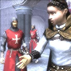 玛利亚询问圣殿骑士船只的事情