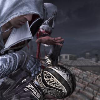 Ezio assassinant le deuxième archer