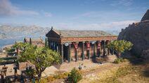 ACOD- Achaia- Tempel der Artemis Laphria