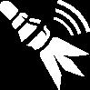 ACRO fléchette pétard symbole