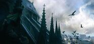 ACUnity Assassini Notre Dame concept art