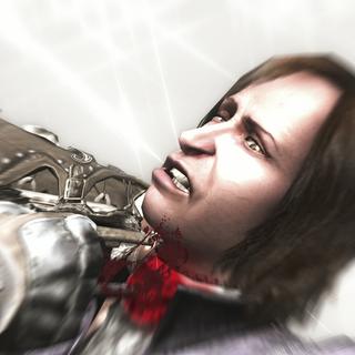 Ezio achevant <b>Checco</b>