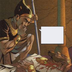 Le cadavre d'<b>An Nasir</b> retrouvé par un garde