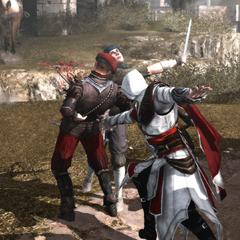 Ezio verdedigt Vinicio