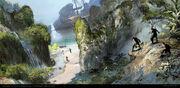 AC4BF Swan Island - Concept Art