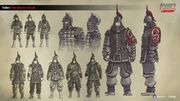 ACCC Chinese Soldiers - Concept Art