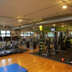 La salle de gym!