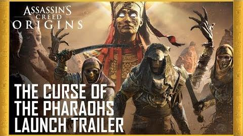 Assassin's Creed Origins The Curse of the Pharaohs DLC Launch Trailer Ubisoft US