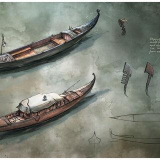 贡多拉的概念插图