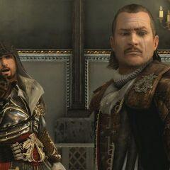 马里奥和艾齐奥逃离神殿