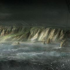 《北美暴风雨》,马克思·秦绘制