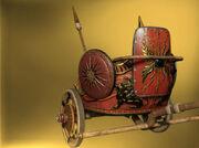 Royal-chariot-origins