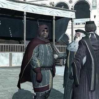广场上的圣殿骑士会议