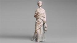 DTAE Statute of draped woman