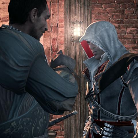 Bartolomeo détaillant son plan à Ezio