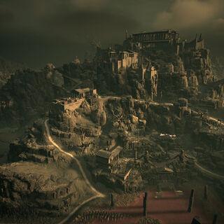 俯瞰哈迪斯的宫殿