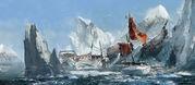 ACRogue HMS Sapphire wreck Concept Art
