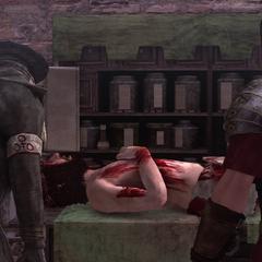 皮埃特罗与埃齐奥在医生处
