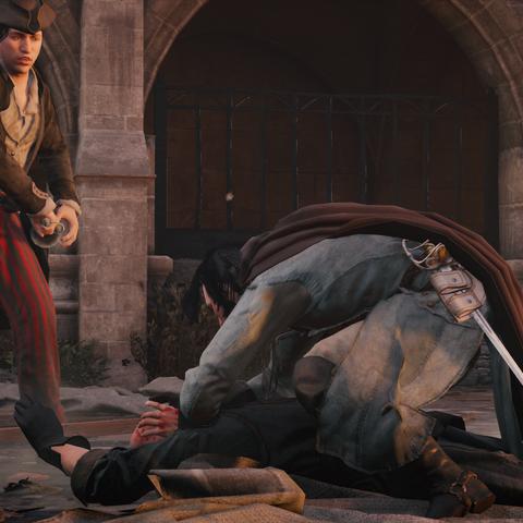 Bellec assassinating Arpinon