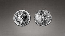 DTAG Tetradrachm of Kleomenes II and Artemis Ortheia