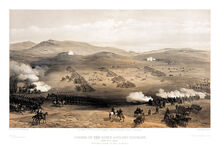 800px-William Simpson - Charge of the light cavalry brigade, 25th Oct. 1854, under Major General the Earl of Cardigan