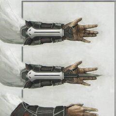 现代袖剑的概念图