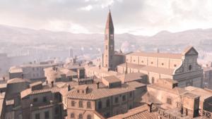 Widok na dzielnicę Santa Maria Novella