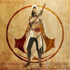 Ezio's Assassin robes as seen in <i>Assassin's Creed Chronicles: China</i>