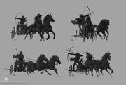 ACO Bayek Chariot Concept Art 3 - Martin Deschambault